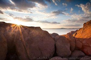 Sunburst Lake - Great Plains State Park