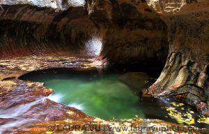 Subway Swirls - Zion National Park, Utah