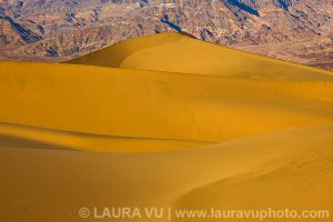 Mountains of Gold - Death Valley National Park, California
